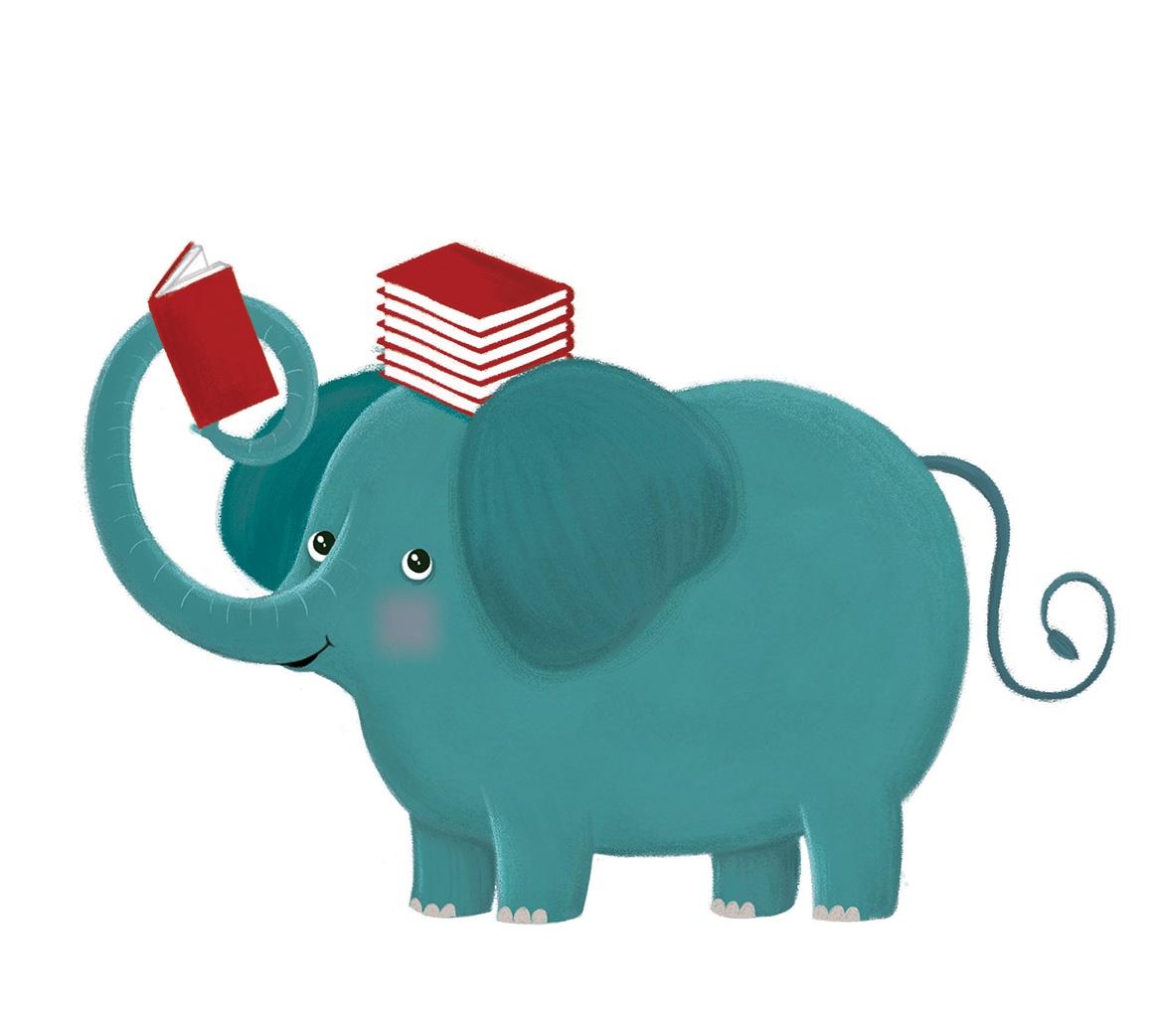 Mascot for a kid's book club